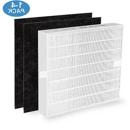 1-4 Set True HEPA Replacement Filter for Coway AP1512HH Air