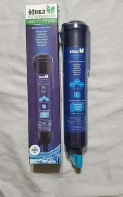 1 Sante Replacement Water Filter EDR3RXD1, 4396841, Kenmore,