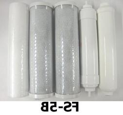 1 Set 5 Pcs Spare Replacement Ro Di Filters #Fs-5b