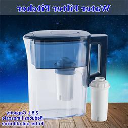 2.5L Drinking Water Jug Bottle Filter Coolers Dispenser Home