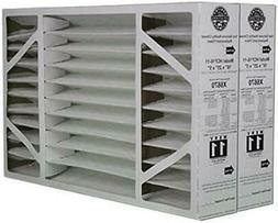 """2 Pack of X6670 Lennox OEM Merv 11 Filter Media 16""""X25""""X5"""" F"""