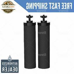 2 Black Berkey Water Filters Replacement - Free 2 Day Delive