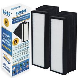 VEVA Premium 2 HEPA Filters and 8 Pack of Pre-Filters Compat