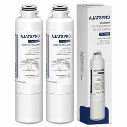 2 Pack Refrigerator water filter Replacement for Samsung Aqu