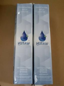2 Pk Waten H20 Replacement Filter For 4396841, 4396710 Water