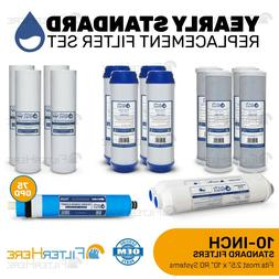 2-Year 5-Stage Reverse Osmosis Replacement Kit - 15 Filters