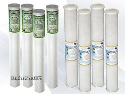 """20"""" X 2.5""""  Sediment &  Carbon Water Filter Replacement Home"""