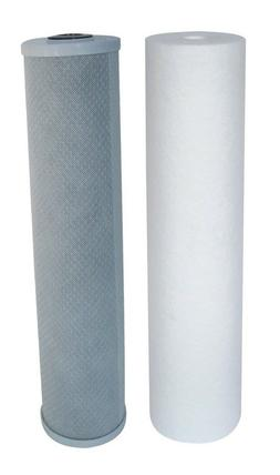 """20"""" x 4.5"""" Sediment and CTO Filter Cartridges, Replacement S"""