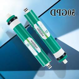 2PK 50GPD Membrane REVERSE OSMOSIS Filter Replacement with W