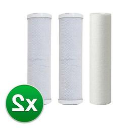 Replacement RO Filter Kit For iSpring 3 Stage RO System