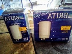3   Brita Water Faucet  Replacement. Filters White NEW IN BO