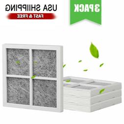3Pack Replacement Refrigerator Air Filter for LG LT120F Kenm