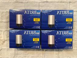 4 Lot Brita 36314 / FR-200 Faucet Replacement Filters 3 Filt