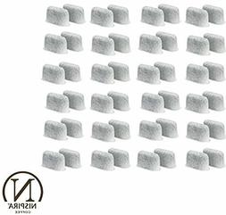 48 Replacement Charcoal Water filters  For Cuisinart Coffee