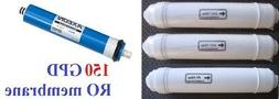 4pcs Drinking  Portable Reverse Osmosis RO Replacement filte