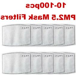 5-Layer Adult & Kids Activated Carbon PM2.5 Replacement Filt