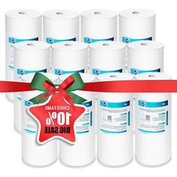 """5 Micron 10"""" x 4.5"""" Whole House Sediment Water Filter Big Bl"""