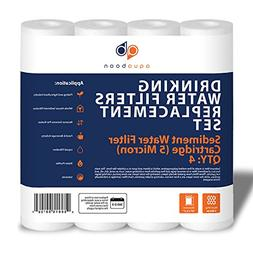 4 PACK of 5 Micron 10 Inch. Sediment Water Filters For Any S