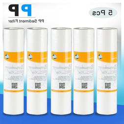 5 PCS PP Sediment Water Filter Replacement For Whirlpool WHK