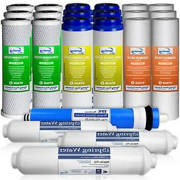 iSpring  RO Water Filter Replacements - Reverse Osmosis DI -