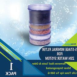 5-Stage Replacement Mineral Filter Cartridge for Zen Counter