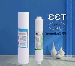 """5μm 10"""" x 2.5"""" PP Sediment + T33 Carbon Filter Replace"""