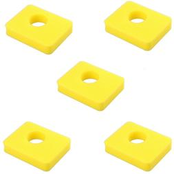 5Pcs Air Cleaner Foam Filter for 799579 5434 Engine Yellow F