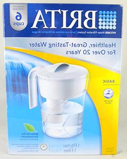 BRITA 6-cups Pitcher Water Filtration System with One Filter