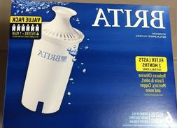 6-Count BRITA Standard Replacement Filters BPA Free Pitchers