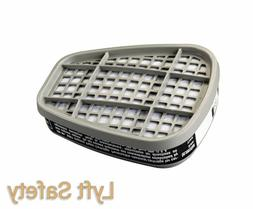 3M 6001 Organic Vapor Cartridge Replacement Filters 6000&700