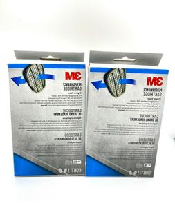 3M 6001PB1-1 Organic Vapor Replacement Cartridge, 1-Pair