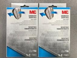 3M 6001P1 Replacement Filter Cartridge Set  NIOSH APPROVED O