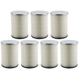 7 Pack Shop-Vac 90328 Replacement Cartridge Filters for Craf