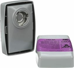 3M 7093 P100 Replacement Respirator Cartridge/Filter 1 Pair,