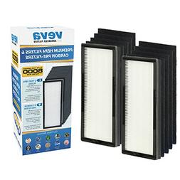 VEVA 8000 Elite Pro Series Air Purifier Replacement Value Pa