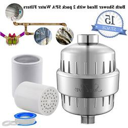 AquaBliss High Output Universal Shower Replaceable Multi Sta