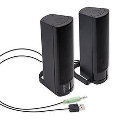 Connectland CL-SPK20037 USB Powered Desktop Monitor Stereo S