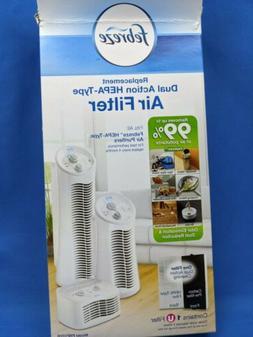 Febreze - Febreze Hepa-type Air Purifier Filter - White