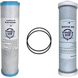 GE FXSVC Compatible Filters, Two Replacement Carbon Filter C