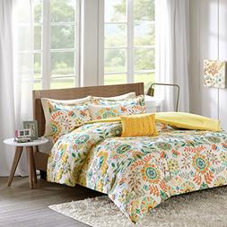 Intelligent Design ID10-728 Nina Comforter Set Full/Queen Mu