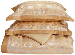 Madison Park Signature Castello Queen Size Bed Comforter Set