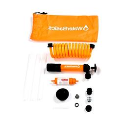 WaterBasics Emergency Pump and Water Filter Kit.