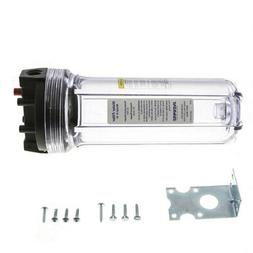 """Everpure A-10 Clear 10"""" Water Filter Housing Replacement + M"""