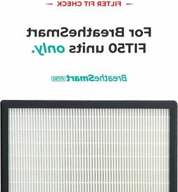 Alen FIT50 HEPA Replacement Filters for FIT50 Silver Air Pur
