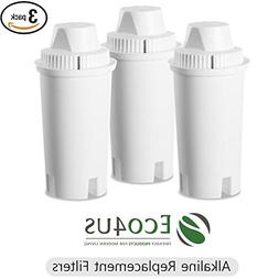 Eco4us - Alkaline Water Pitcher Replacement Filters , Brita