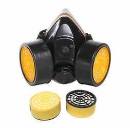 Anti-Dust Paint Respirator Mask+2 Activated Carbon Filter Ca