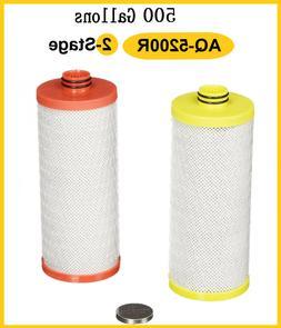Aquasana AQ-5200R 2-Stage Replacement Filter Cartridges Wate