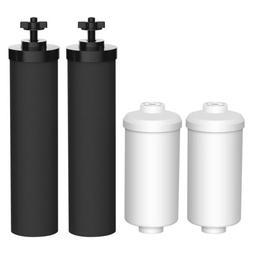 Fits Black Berkey Replacement BB9-2 & Fluoride Filters Combo
