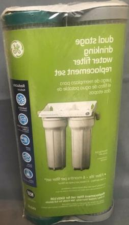 BRAND NEW Dual Stage Drinking Water Filter Replacement Set F