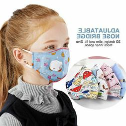 Children Mask With Breath Design Replaceable Filter Mouth Ma